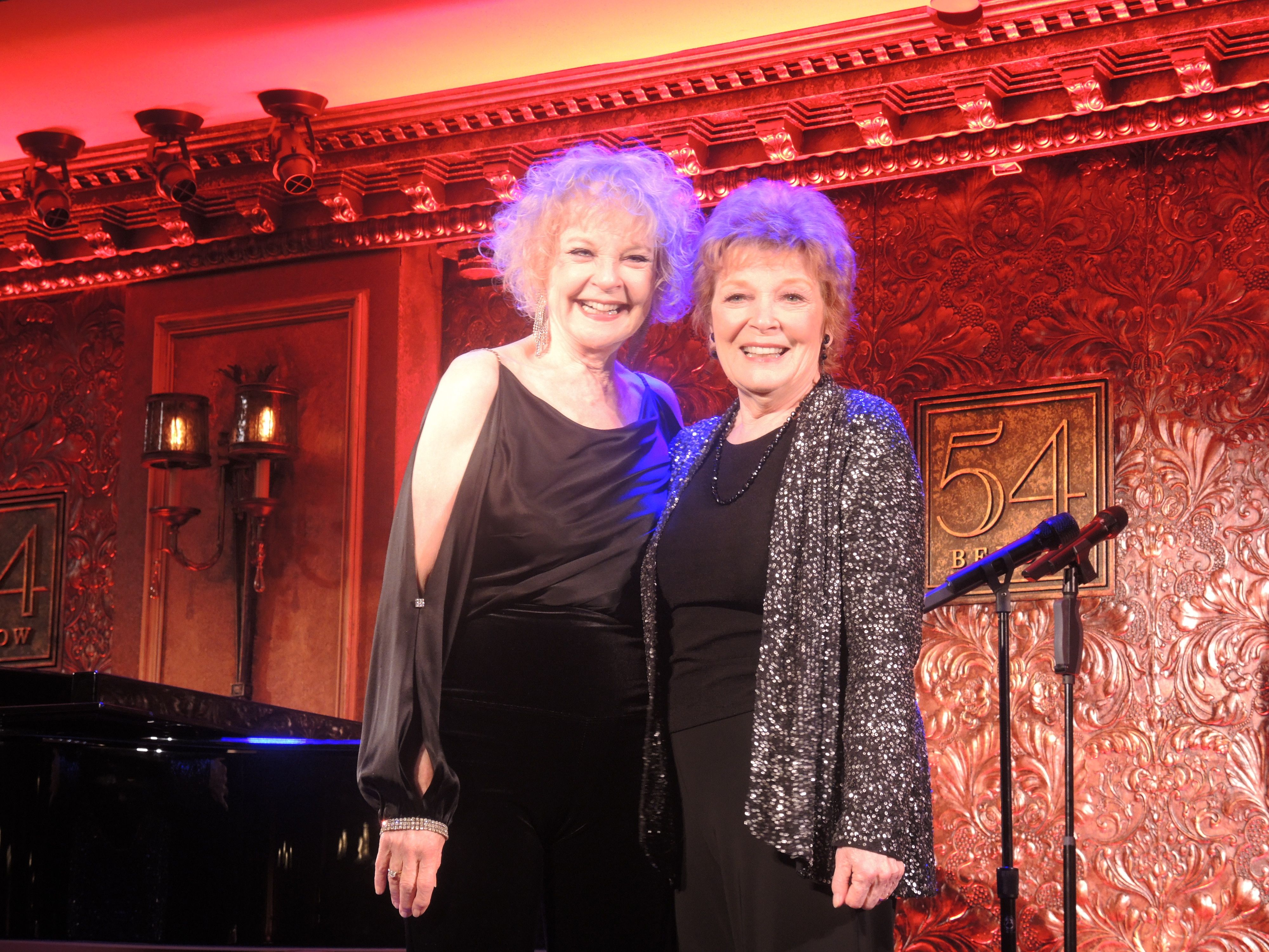 Anita Gillette & Penny Fuller – Sin Twisters at 54 Below (video)