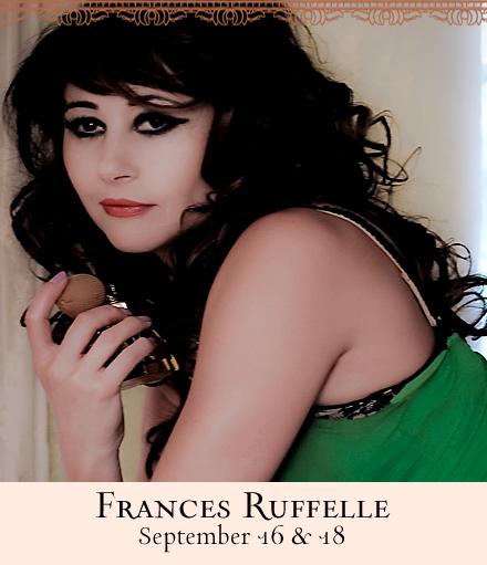 Frances Ruffelle Gives Us a Peek Beneath the Dress