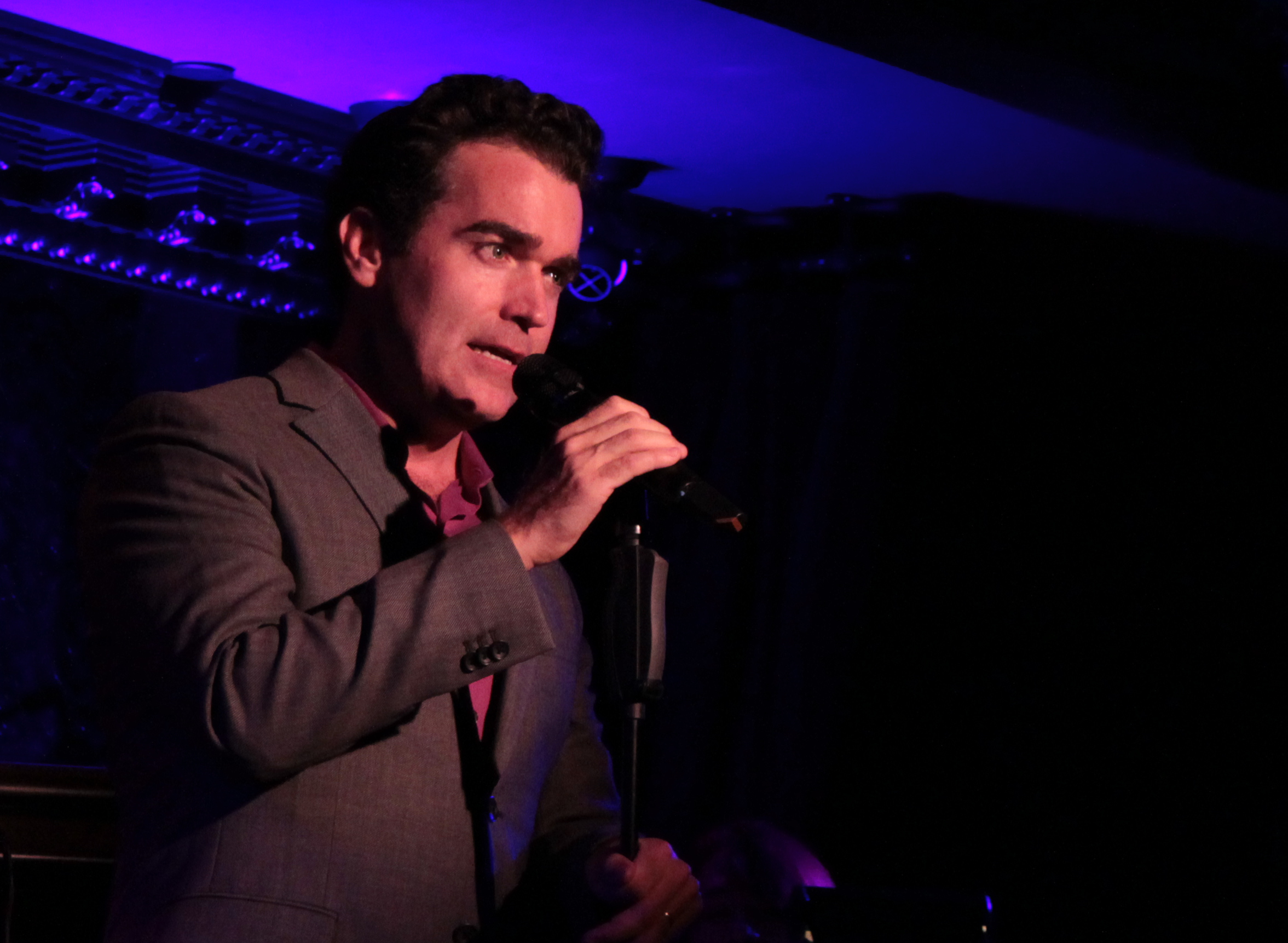 No Yapping This Time Around says Brian d'Arcy James at 54 Below