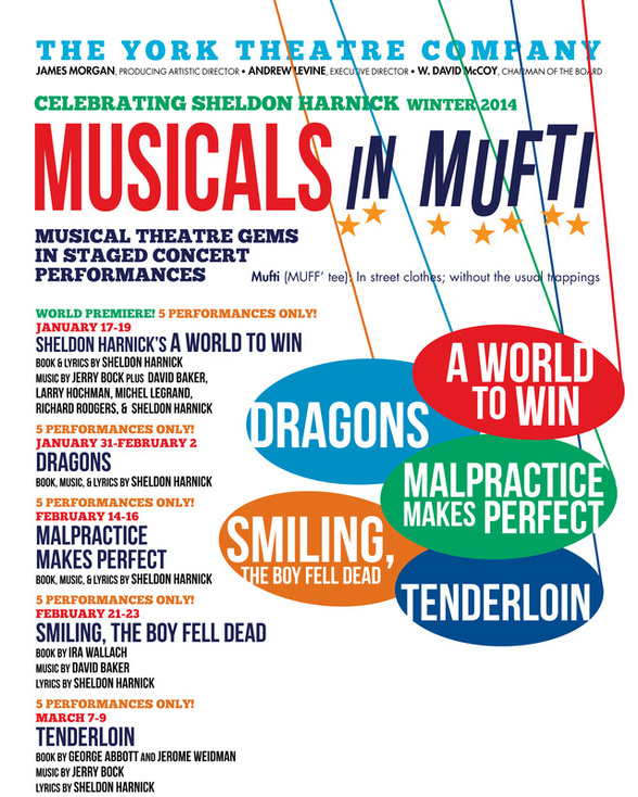 York Theatre Company – Musicals in Mufti Series 2014