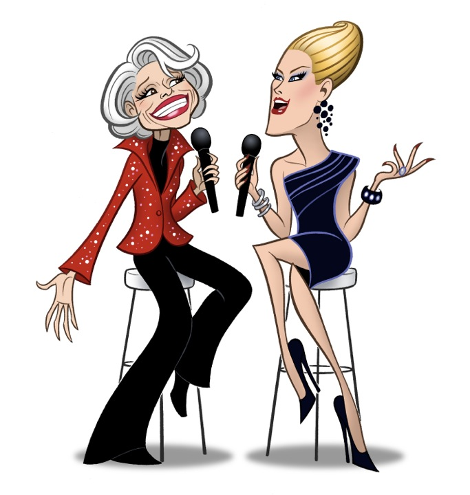 What Becomes a Legend Most – Justin Vivian Bond Joins Carol Channing