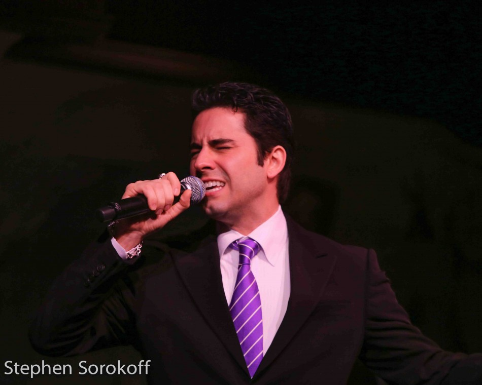 John Lloyd Young at the Café Carlyle