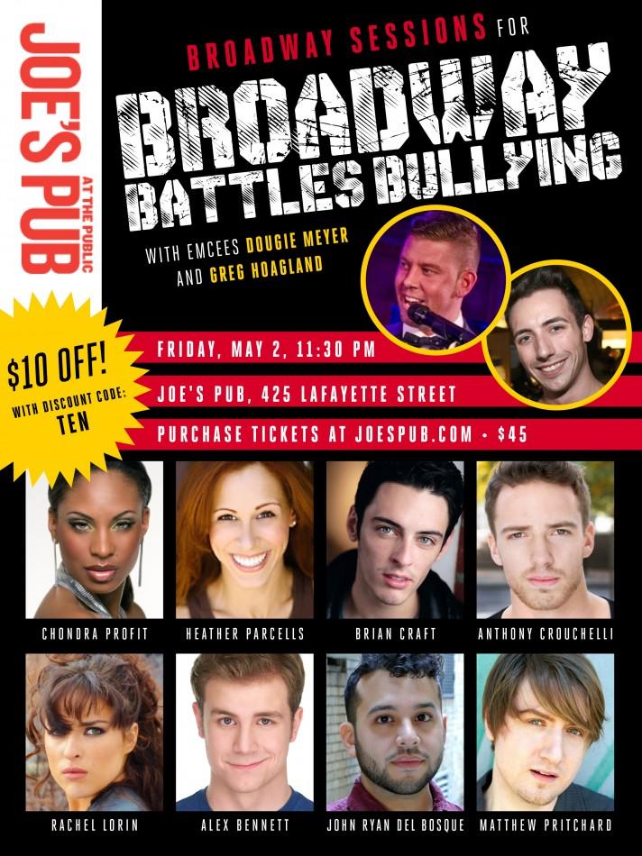 Broadway Battles Bullying Concert – Joe's Pub