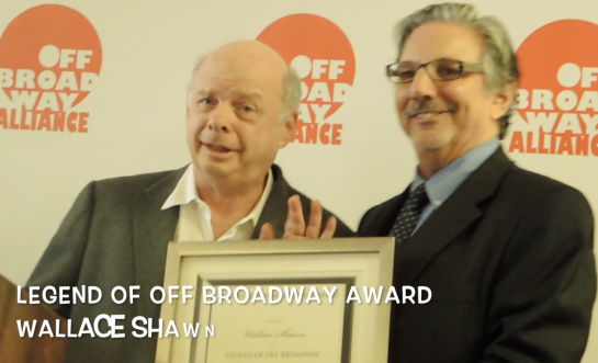 Off Broadway Alliance Bestows Awards – Terrence McNally, Wallace Shawn, Fun Home. . .