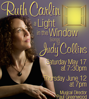 Ruth Carlin: A Light in the Window – Songs by Judy Collins