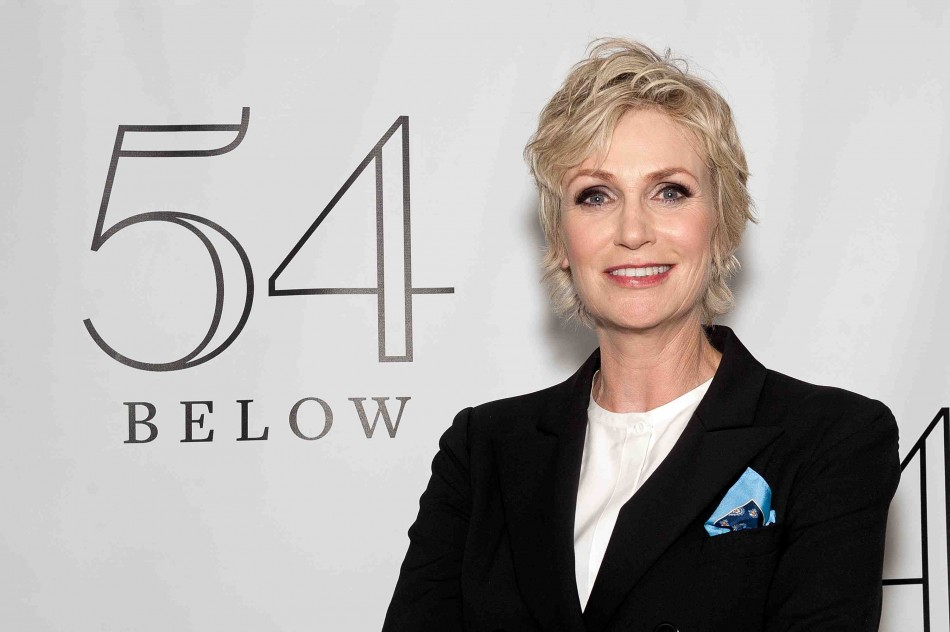 Jane Lynch Debuted at 54 Below with Cheyenne Jackson, Matthew Morrison – Photos