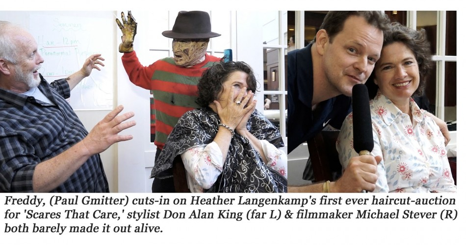 Elm Street's Langenkamp Gets Freddy-Cut for 'Scares That Care'