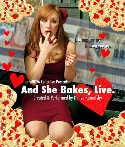 Savory & Sweet: And She Bakes, Live!