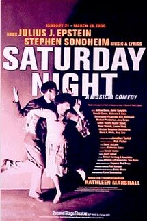 Sondheim's Saturday Night – Mufti Series York Theatre
