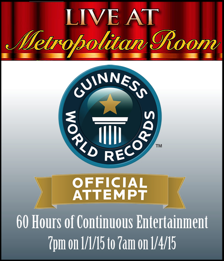 Metropolitan Room – A Guinness Book Variety Show