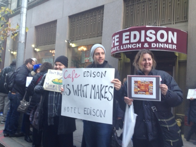 Revolution!!! – Broadway Edison Cafe to Close