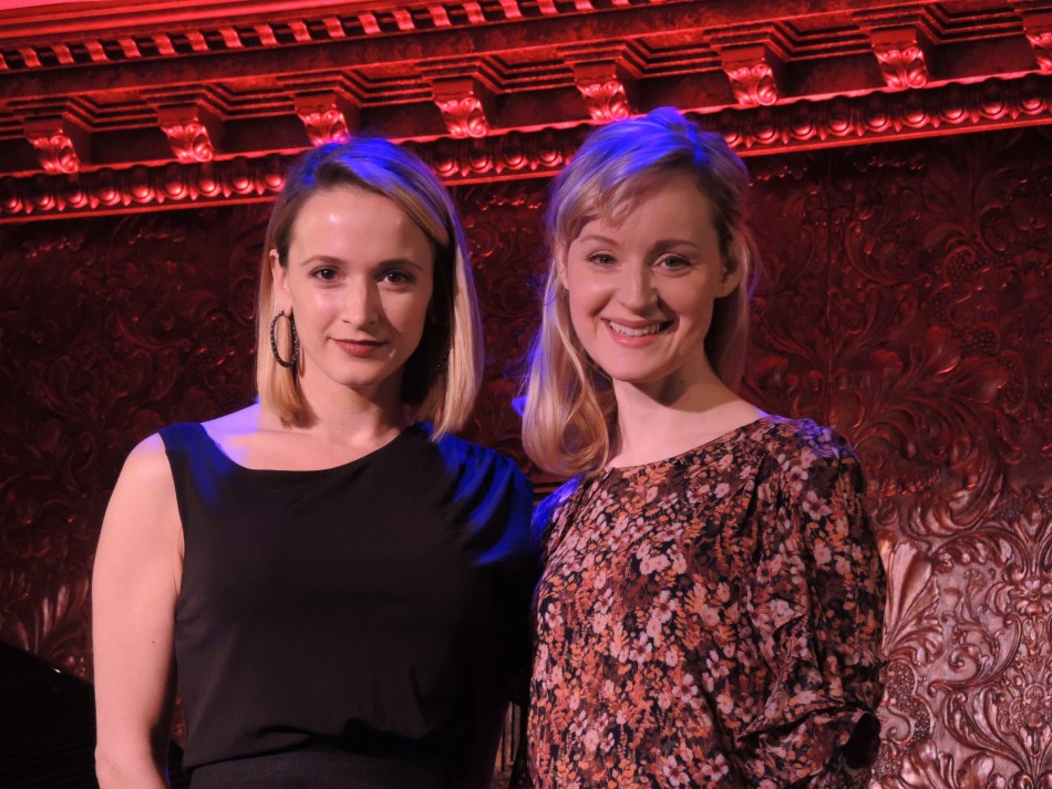 Emily Padgett & Erin Davie Together at 54 Below