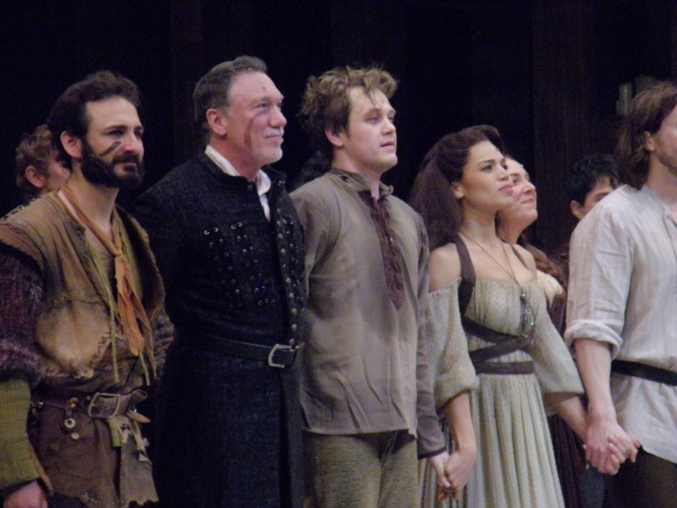 Hunchback of Notre Dame Opens at Paper Mill Playhouse