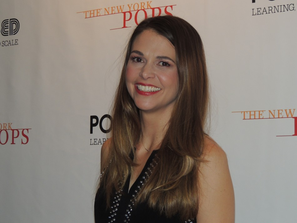 Sutton Foster Wows with NY Pops