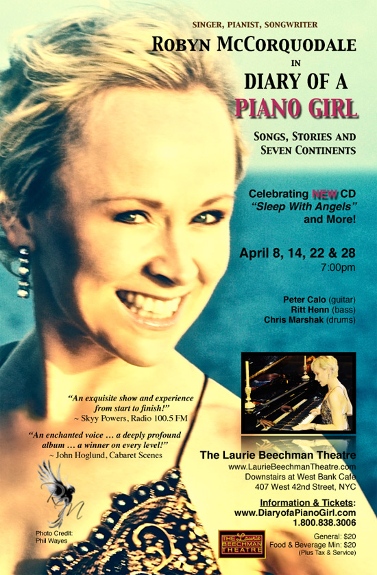 Robyn McCorquodale: Diary of a Piano Girl