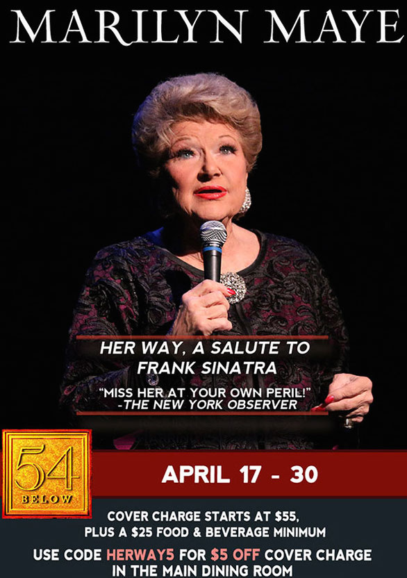 Marilyn Maye is Back in Town, Her Way!