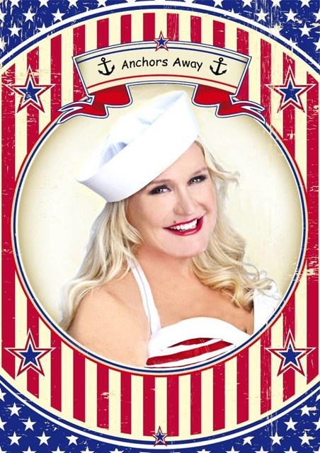Kim Sutton Celebrates Fleet Week at Don't Tell Mama