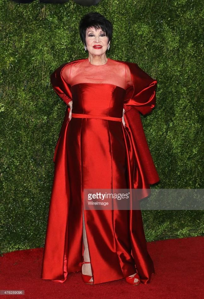 At the Tony Awards Red Carpet – No. 3