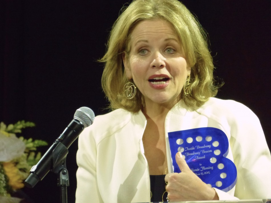 Beacon Awards Presented to Renée Fleming and Tony Danza