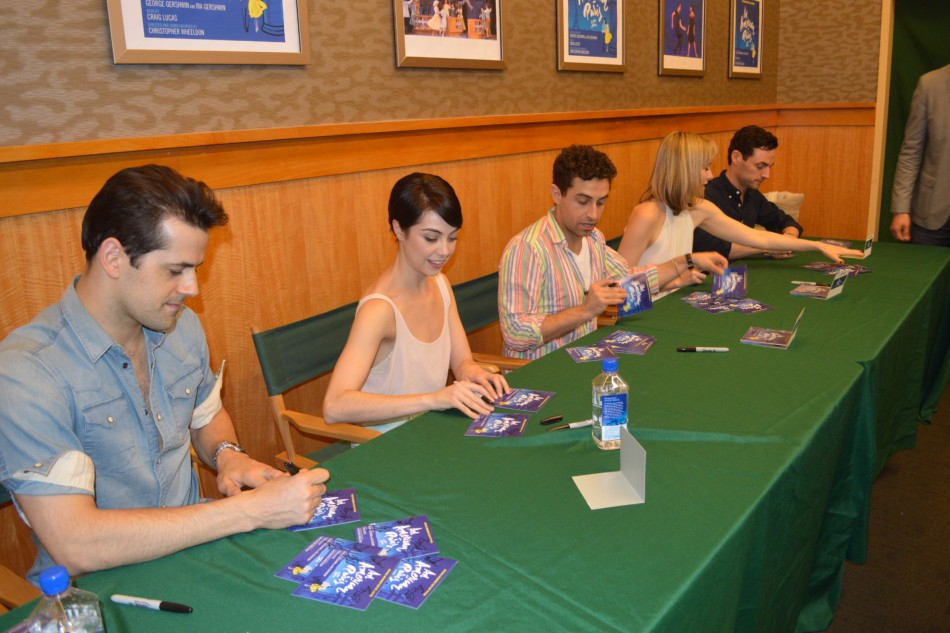 An American In Paris – CD Signing at B&N (photos)