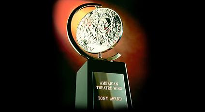 TheaterPizzazz in the Press Room at the Tonys Tonite
