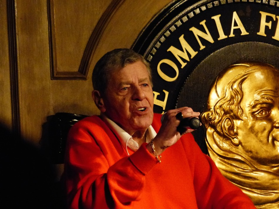 Legendary Jerry Lewis Holds Court at the Friars Club