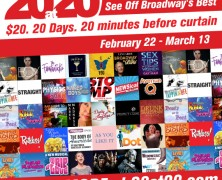 20at20 – Your Favorite Off Broadway Show for $20