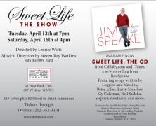 Speaking about Jim Speake. . .