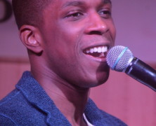 Leslie Odom Jr. Promotes Self Titled CD at B&N