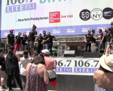 106.7 Celebrates Broadway in Bryant Park (video)