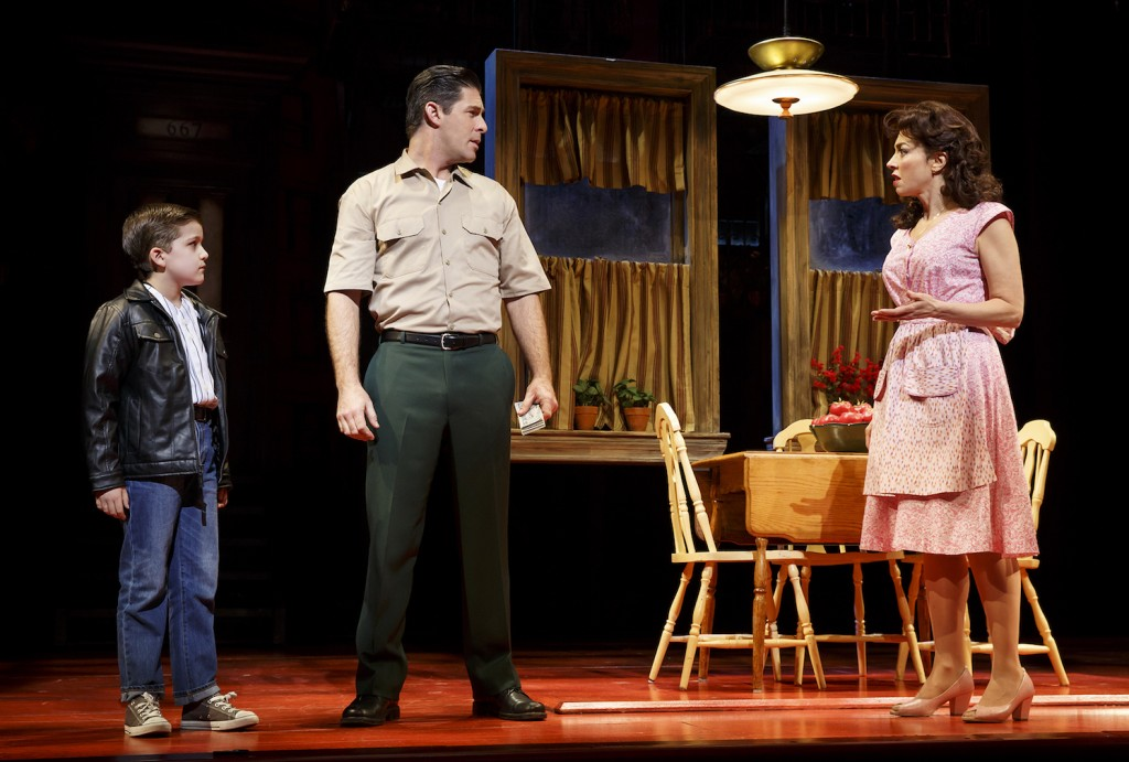 A Bronx Tale The Musical Pre-opening information; subject to change A Bronx Tale The Musical View More Images Longacre Theatre, (12/01/2016 - ) First Preview: Nov 03, 2016 Total Previews: Opening Date: Dec 01, 2016 Closing Date: Total Performances: Category: Musical, Drama, Original, Broadway A Bronx Tale The Musical tickets Official Website Opening Night Credits Production Staff Theatre Owned / Operated by The Shubert Organization (Philip J. Smith: Chairman; Robert E. Wankel: President) Produced by Tommy Mottola, The Dodgers and Tribeca Productions Book by Chazz Palminteri; Music by Alan Menken; Lyrics by Glenn Slater; Musical Director: Jonathan Smith; Music arranged by Ron Melrose; Music orchestrated by Doug Besterman Directed by Robert De Niro and Jerry Zaks; Choreographed by Sergio Trujillo Scenic Design by Beowulf Boritt; Costume Design by William Ivey Long; Lighting Design by Howell Binkley; Sound Design by Gareth Owen; Hair and Wig Design by Paul Huntley; Make-Up Design by Anne Ford-Coates Musical Supervisor: Ron Melrose Casting: Tara Rubin Casting; Press Representative: Boneau / Bryan-Brown; Fight Coordinator: Robert Westley Cast Richard H. Blake Lorenzo Nick Cordero Sonny Ariana DeBose Jane Lucia Giannetta Rosina Bradley Gibson Tyrone Bobby Conte Thornton Broadway debut Calogero Hudson Loverro Broadway debut Young Calogero Athan Sporek Young Calogero Alternate Gilbert L. Bailey II Joe Barbara Michael Barra Broadway debut Jonathan Brody Ted Brunetti Brittany Conigatti Kaleigh Cronin Trista Dollison David Michael Garry Rory Max Kaplan Dominic Nolfi Christiani Pitts Broadway debut Paul Salvatoriello Broadway debut Joseph J. Simeone Joey Sorge Cary Tedder Kirstin Tucker Swings: Michelle Aravena, Gerald Caesar, Charlie Marcus, Wonu Ogunfowora and Keith White © 2001- 2016, The Broadway League, All Rights Reserved. Copyright   Disclaimer   Privacy Policy   Terms of