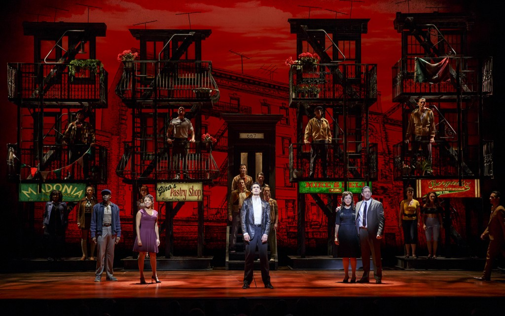 A Bronx Tale The Musical Theatre Owned / Operated by The Shubert Organization (Philip J. Smith: Chairman; Robert E. Wankel: President) Produced by Tommy Mottola, The Dodgers, Tribeca Productions, Evamere Entertainment, Neighborhood Films, Jeffrey Sine, Cohen Private Ventures and Grant Johnson; Produced in association with Paper Mill Playhouse (Mark S. Hoebee, Producing Artistic Director; Todd Schmidt, Managing Director); Associate Producer: Lauren Mitchell World Premiere in Millburn, New Jersey on February 14, 2016 at Paper Mill Playhouse (Mark S. Hoebee, Producing Artistic Director; Todd Schmidt, Managing Director) Book by Chazz Palminteri; Music by Alan Menken; Lyrics by Glenn Slater; Based on the play by Chazz Palminteri; Music arranged by Ron Melrose; Music orchestrated by Doug Besterman; Musical Director: Jonathan Smith Directed by Robert De Niro and Jerry Zaks; Choreographed by Sergio Trujillo; Associate Director: Stephen Edlund; Associate Choreographer: Marc Kimelman Scenic Design by Beowulf Boritt; Costume Design by William Ivey Long; Lighting Design by Howell Binkley; Sound Design by Gareth Owen; Hair and Wig Design by Paul Huntley; Makeup Design by Anne Ford-Coates; Associate Scenic Design: Jared Rutherford; Associate Costume Design: Mariah Hale; Associate Lighting Design: Ryan O'Gara; Associate Sound Design: Josh Liebert; Associate Hair and Wig Design: Giovanna Calabretta Executive Producer: Sally Campbell Morse; General Manager: Dodger Management Group; Company Manager: Miguel A. Ortiz; Associate Co. Mgr: Reeve Pierson Technical Supervisor: Hudson Theatrical Associates; Production Stage Manager: Beverly Jenkins; Stage Manager: Michael Rico Cohen Musical Supervisor: Ron Melrose; Musical Coordinator: John Miller; Conducted by Jonathan 'Smitti' Smith; Associate Conductor: John Samorian; Woodwinds: Kristy Norter and John De Simini; Trumpet/Flugel: Jami Dauber; Trombone/Tuba: Clint Sharman; Guitars: Kenny Brescia and Bernd Schoenhart; Drums: Perry Cavari; Percussion: Bill Hayes; Acoustic and Electric Bass: Francisco Centeno; Keys: Jonathan 'Smitti' Smith, John Samorian and Logan Medland Casting: Tara Rubin Casting and Merri Sugarman, CSA; Press Representative: Boneau / Bryan-Brown; Advertising/Marketing: AKA; Promotions: Red Rising Marketing; Fight Coordinator: Robert Westley; Period Music Consultant: Johnny Gale; Fight Captain: Wonu Ogunfowora; Dance Captain: Brittany Conigatti; Assistant Dance Captain: Michelle Aravena; Photographer: Joan Marcus Cast Richard H. Blake Lorenzo Nick Cordero Sonny Ariana DeBose Jane Lucia Giannetta Rosina Bradley Gibson Tyrone Bobby Conte Thornton Broadway debut Calogero Hudson Loverro Broadway debut Young Calogero Athan Sporek Young Calogero Alternate Gilbert L. Bailey II Jesse Ensemble Joe Barbara Police Officer Gang Leader Carmine Ensemble Michael Barra Broadway debut JoJo the Whale Ensemble Jonathan Brody Eddie Mush Ensemble Ted Brunetti Frankie Coffeecake Ensemble Brittany Conigatti Ensemble Kaleigh Cronin Ensemble Trista Dollison Frieda Ensemble David Michael Garry Ensemble Rory Max Kaplan Nicky the Mook Doo-Wop Guy Ensemble Dominic Nolfi Crazy Mario Doo-Wop Guy Ensemble Christiani Pitts Broadway debut Denise Ensemble Paul Salvatoriello Broadway debut Tony-Ten-To-Two Ensemble Joey Sorge Rudy the Voice Ensemble Cary Tedder Doo-Wop Guy Ensemble Kirstin Tucker Ensemble Keith White Slick Doo-Wop Guy Ensemble Swings: Michelle Aravena, Gerald Caesar, Charlie Marcus, Wonu Ogunfowora and Joseph J. Simeone Understudies: Michelle Aravena (Rosina), Gilbert L. Bailey II (Tyrone), Joe Barbara (Sonny), Gerald Caesar (Tyrone), Kaleigh Cronin (Rosina), Rory Max Kaplan (Calogero), Charlie Marcus (Lorenzo, Sonny), Wonu Ogunfowora (Jane), Christiani Pitts (Jane), Joseph J. Simeone (Calogero) and Joey Sorge (Lorenzo)