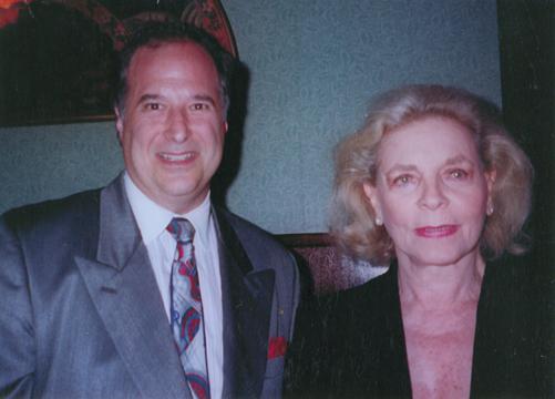 Stewart F. Lane & Lauren Bacall