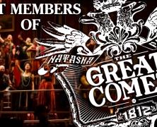 Cast Members of The Great Comet play 54 Below