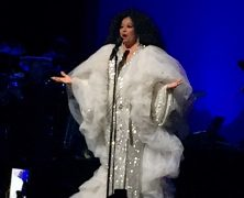 Diana Ross Concert a Love-In at City Centre