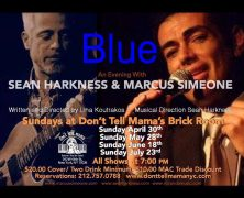 Blue: Sean Harkness and Marcus Simeone