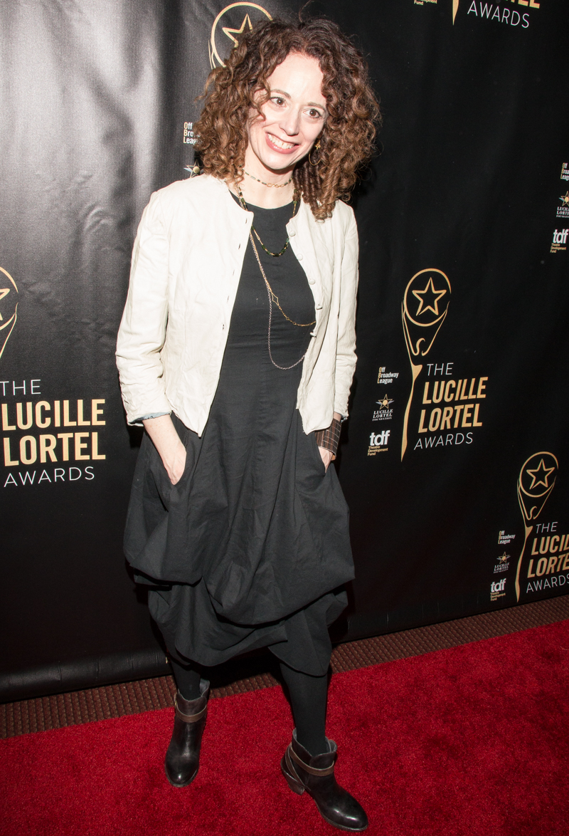 Asmeret ghebremichael lucille lortel awards in new york new pics
