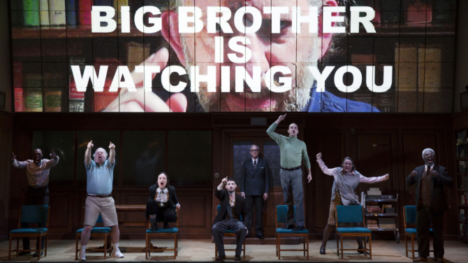 1984 Broadway Big Brother Review