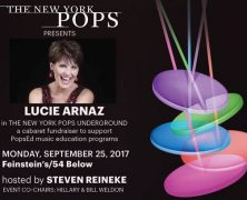 Lucie Arnaz Will Perform in NY Pops Underground