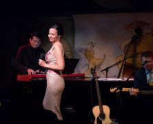 "Mandy Gonzalez is ""Fearless"" at the Café Carlyle"