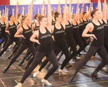 Radio City Rockettes Rehearse Xmas Spectacular for Press