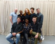 Abingdon Theatre Rehearsals for 25th Anniversary Gala