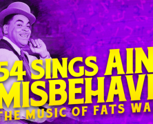 54 Sings Ain't Misbehavin': The Music of Fats Waller