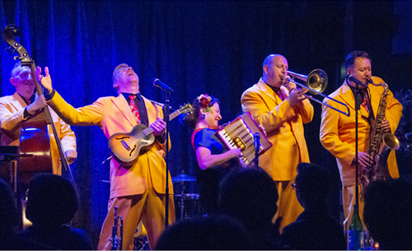 The Jive Aces - A Flat Out, No-Holds-Barred Good Time!