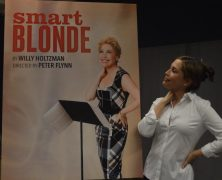 Smart Blonde Meets the Press